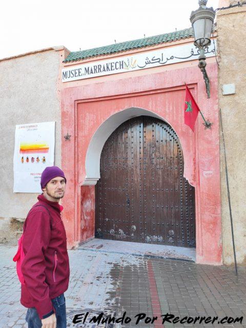 marrakech marruecos museo de