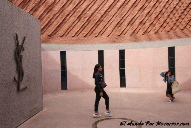 marrakech marruecos museo laurent