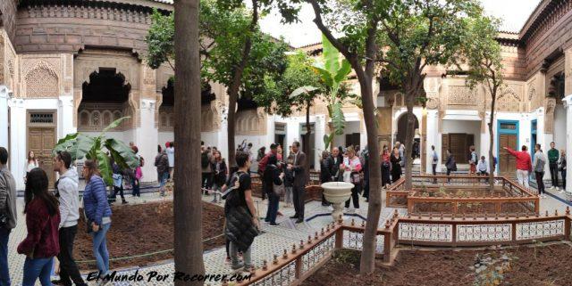 marrakech marruecos palacio bahia