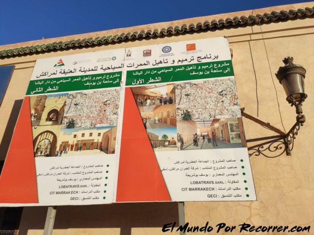 marrakech marruecos proyecto de obras
