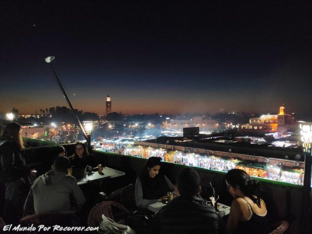 marrakech marruecos terraza