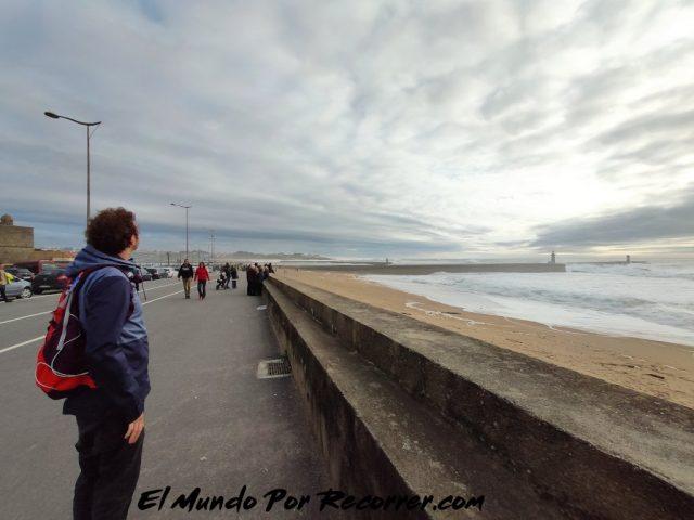 Porto portugal playa foz