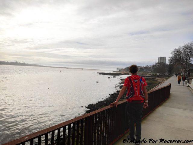 Porto portugal ribera hasta matosinhos
