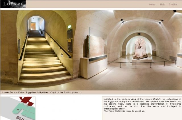 louvre virtual tour