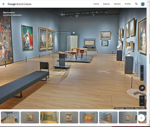 museo street view amsterdam